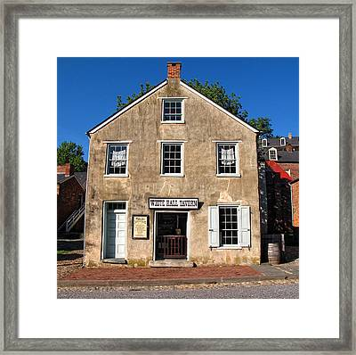 White Hall Tavern Harpers Ferry Virginia Framed Print by Dave Mills