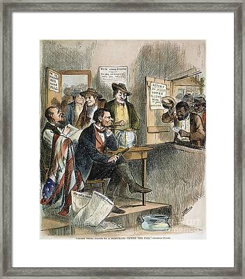 White League, 1874 Framed Print by Granger