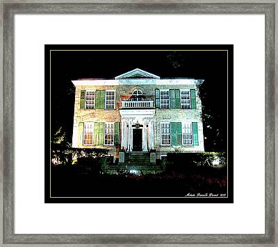 Whitehern Historic House And Garden Framed Print by Danielle  Parent