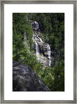 Whitewater Falls Framed Print by Rob Travis