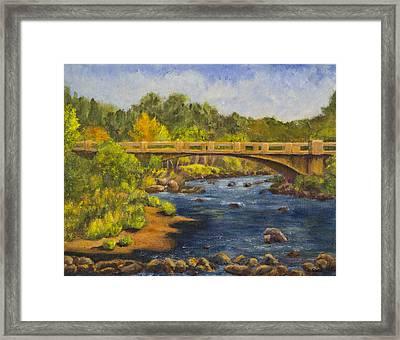 Whitney Crossing Framed Print by Jo-Anne Gazo-McKim