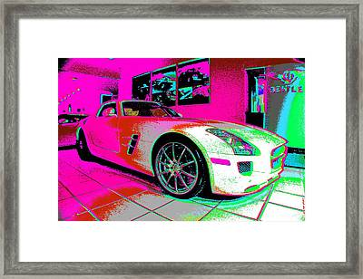 Who Is Who Framed Print by Rogerio Mariani
