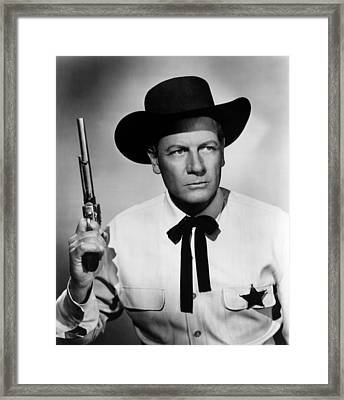 Wichita, Joel Mccrea, 1955 Framed Print by Everett