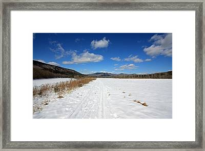 Wide Open Framed Print by Becca Brann
