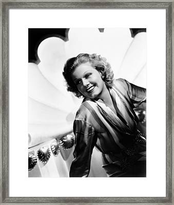 Wife Vs. Secretary, Jean Harlow, 1936 Framed Print by Everett