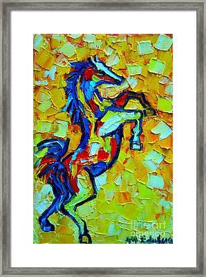 Wild Horse Framed Print by Ana Maria Edulescu