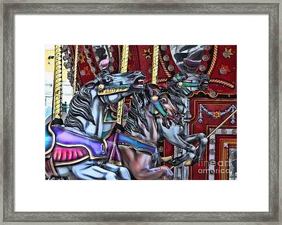 Wild Horses Framed Print by Heather Applegate