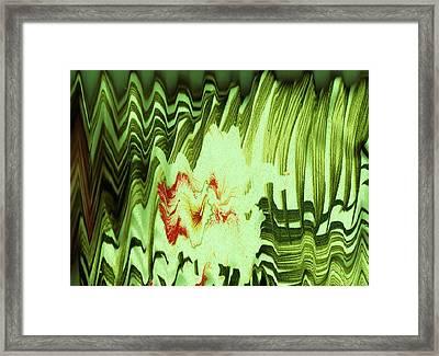 Wild Thing Framed Print by Anne-Elizabeth Whiteway
