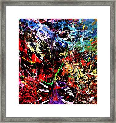 Wild Whipblash Framed Print by Neal Barbosa