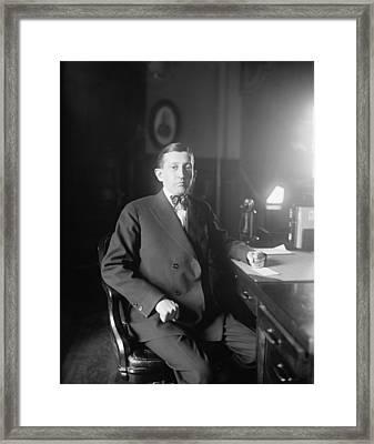 Will Hays 1879-1954, A Lawyer Framed Print by Everett