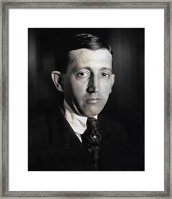 Will Hays 1879-1954, The First Framed Print by Everett