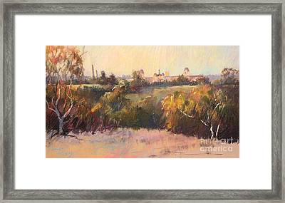 Willesmere From Charitas Framed Print by Pamela Pretty