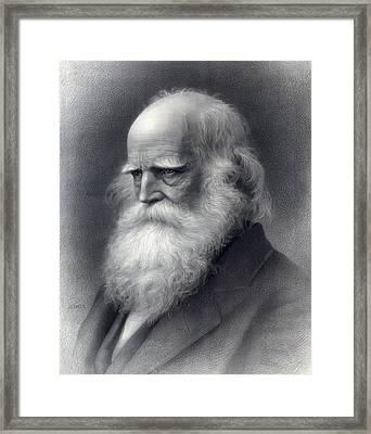 William Cullen Bryant 1794-1878 Was An Framed Print by Everett