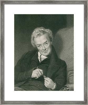 William Wilberforce 1859-1833, British Framed Print by Everett