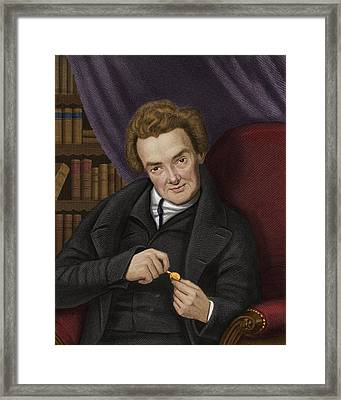 William Wilberforce, British Abolitionist Framed Print by Maria Platt-evans