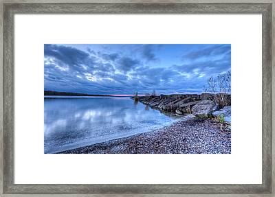 Willow Bay Framed Print by Everet Regal