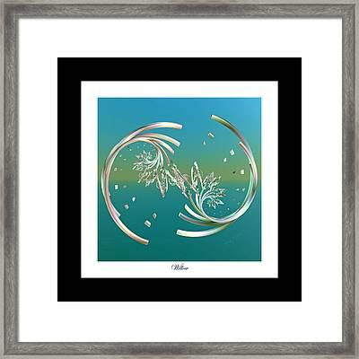 Willow Framed Print by Betsy Knapp