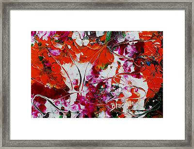 Wilted Flowers Framed Print by Donna Blackhall