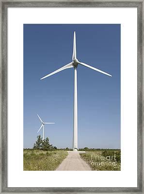 Wind Turbines Framed Print by Jaak Nilson