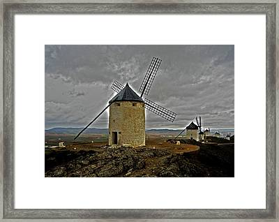 Windmills - Consuegra Framed Print by Juergen Weiss