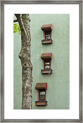 Window Haiku Framed Print by Art Ferrier