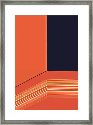 Window Seat Framed Print by Bonnie Bruno