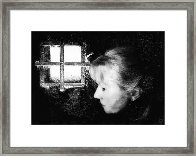 Window To The World Framed Print by Gun Legler