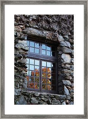 Window To The World Framed Print by Sandi Blood