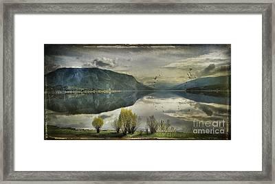 Window View Framed Print by Kym Clarke