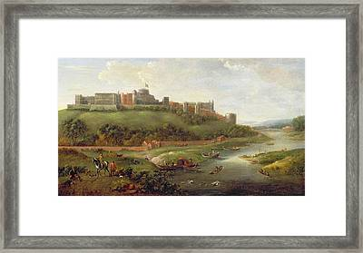 Windsor Castle Framed Print by Hendrick Danckerts