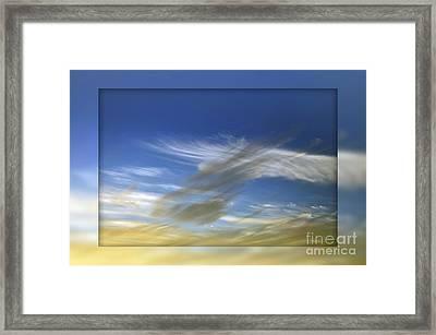 Windswept 2 Framed Print by Kaye Menner