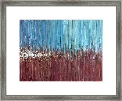 Windy Daze 1 Framed Print by Kate Tesch