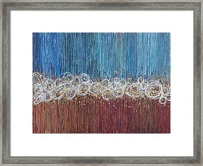 Windy Daze 2 Framed Print by Kate Tesch