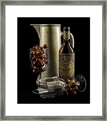 Wine Anyone? Framed Print by Jen Morrison