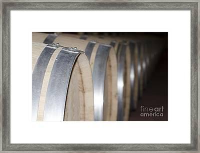 Wine Barrels Framed Print by Mats Silvan
