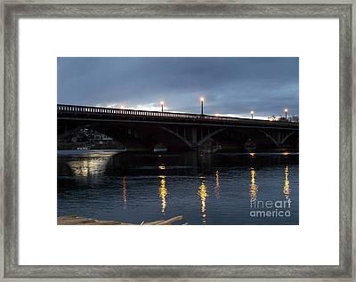 Wine Country Bridge Framed Print by Charles Robinson