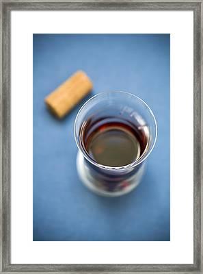 Wine Tasting Framed Print by Frank Tschakert