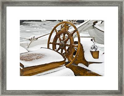 Winter On Board Framed Print by Heiko Koehrer-Wagner