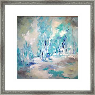 Winter Symphony Framed Print by Sue Prideaux