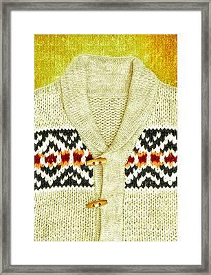 Winter Top Framed Print by Tom Gowanlock