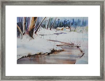 Winter Wonders Framed Print by P Anthony Visco