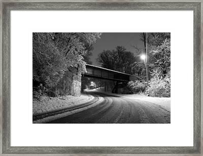 Winter's Beauty Framed Print by Joel Witmeyer