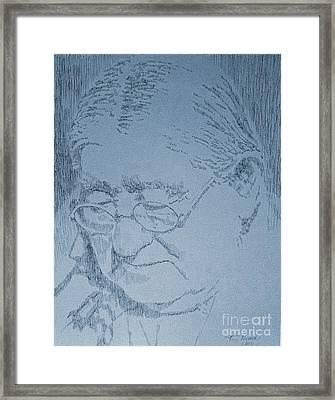 Wisdom Framed Print by Robbi  Musser
