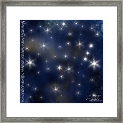 Wish Upon A Star Framed Print by Clayton Bruster