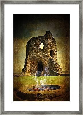 Wishing Well Framed Print by Svetlana Sewell