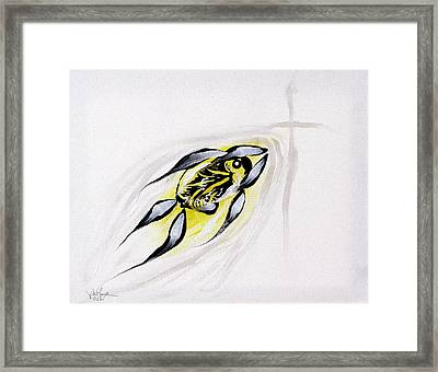 With A Pure Heart Framed Print by J Vincent Scarpace