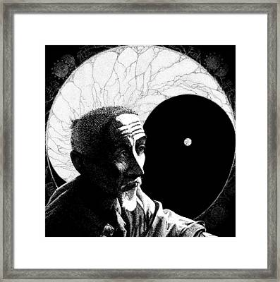 With Eyes Wide Open Framed Print by William Ground