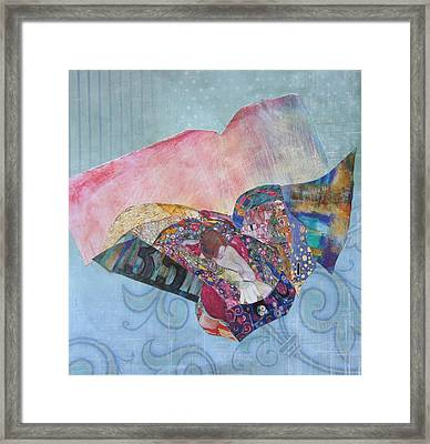 With My Own Wings Framed Print by Kanchan Mahon