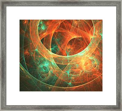 Within Framed Print by Lourry Legarde