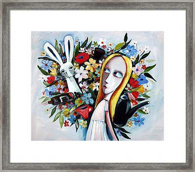 Without Fear Framed Print by Leanne Wilkes